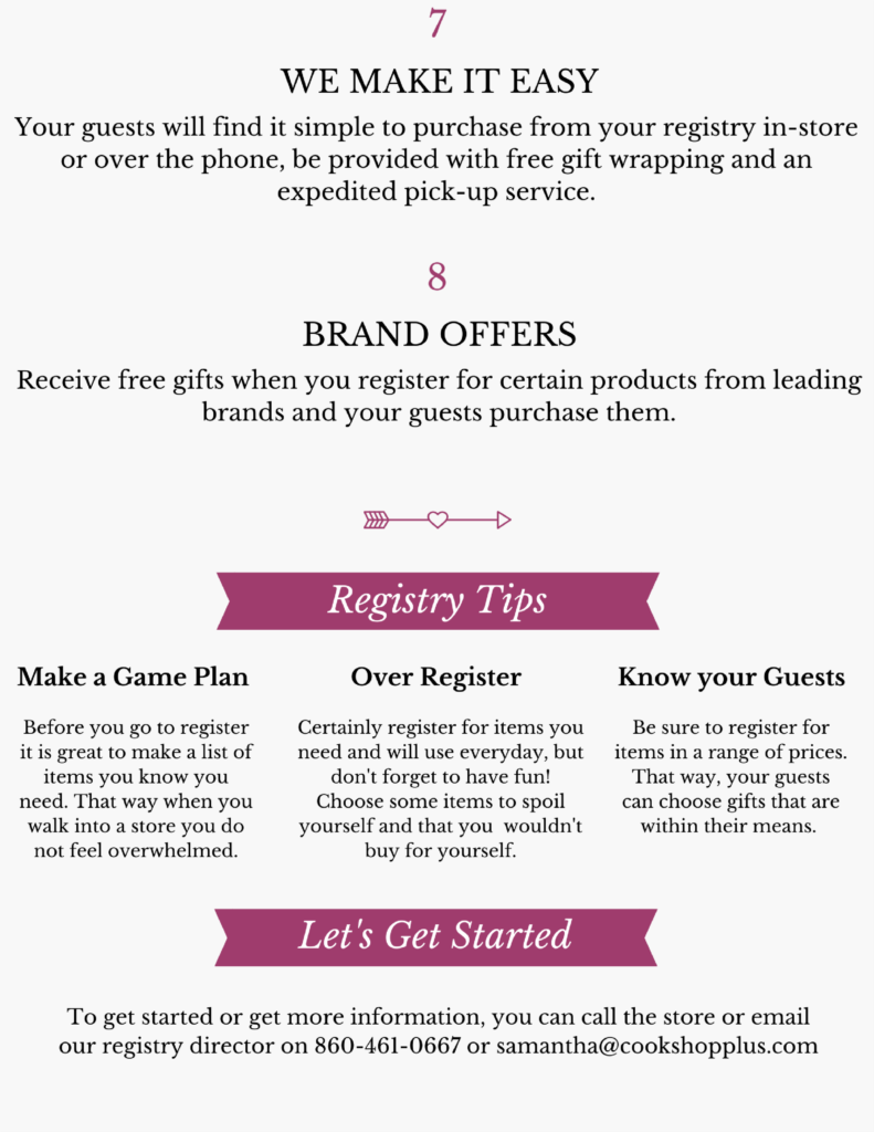 What To Register For Wedding.Gift Wedding Registry