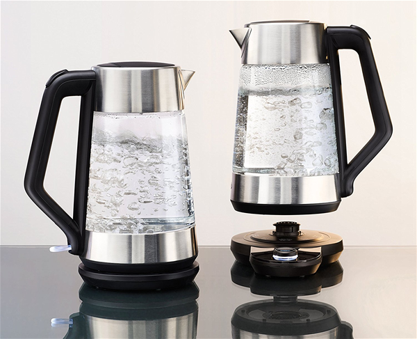 Oxo Glass Adjustable Temperature Electric Kettle