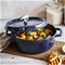 Staub 6qt Cochon Shallow Round Cocotte - Blue (Limited Edition) Click to Change Image