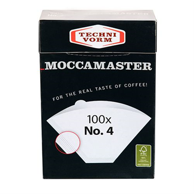 TechniVorm Moccamaster CupOne #1 Filters - 80 Pack