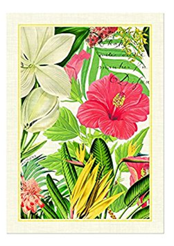 Michel Design Works Vanilla Palm Kitchen Towel Click To Change Image