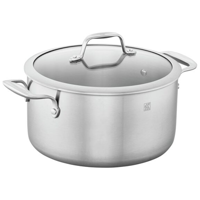 ZWILLING Spirit 3-ply Stainless Steel 6-qt Dutch Oven / Stock Pot