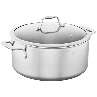 ZWILLING Spirit 3-ply Stainless Steel 8-qt Dutch Oven / Stock Pot