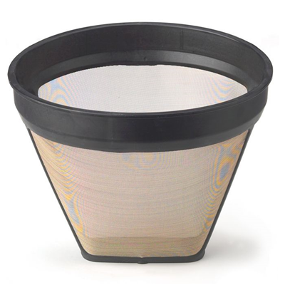 HIC Gold Tone Filter, 4 Cup