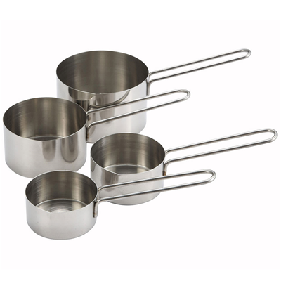 Winco 4pc Measuring Cup Set