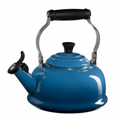 Le Creuset Whistling Kettle - Marseille Blue