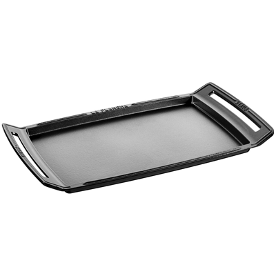 Staub Cast Iron Plancha / Griddle - Black
