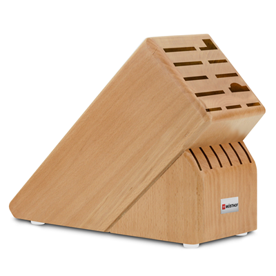 Wusthof 17 Slot Knife Block - Beechwood