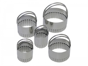 Fluted Biscuit Cutter Set