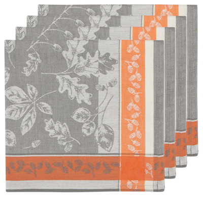 Now Designs Fall Flicker Cotton Napkins - Set of 4