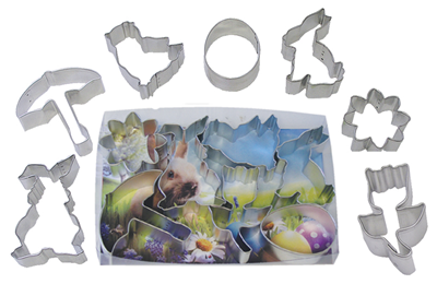 Easter Cookie Cutter Set - 7pc Set