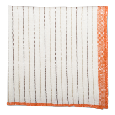 TAG Sienna Stripe Fall Multi Harvest Napkin