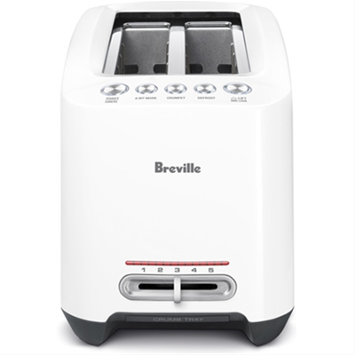 Breville Lift & Look Touch Toaster - White