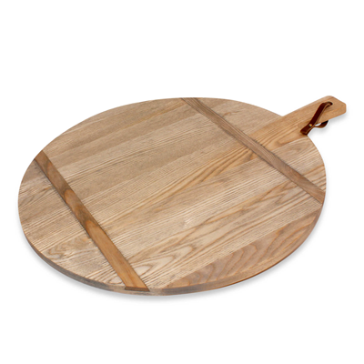 J.K. Adams 1761 Collection Ash Round Cutting/Serving Board - Large