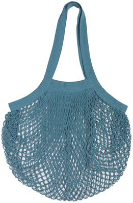 Now Designs Le Marche Netted Shopping Bag - Blue