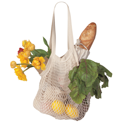 Now Designs Le Marche Netted Shopping Bag - Natural
