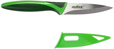 Zyliss Paring Knife with Sheath - Green