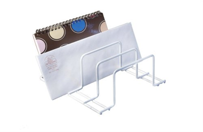 Small Organizer - White Coated Steel