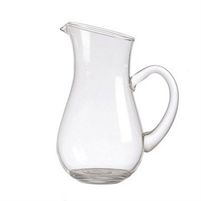 La Porcellana Bianca 34oz Colle Oblique Glass Jug