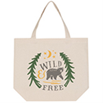 Tote Bag - Wild and Free