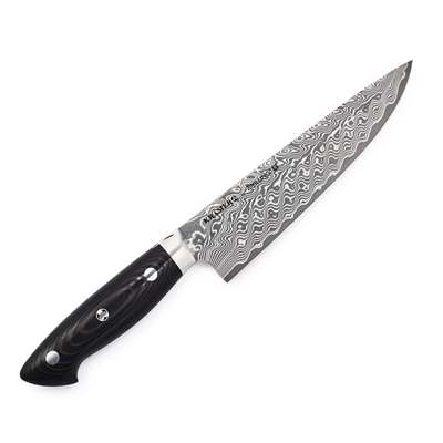 "Zwilling Kramer Stainless Damascus 8"" Narrow Chef"