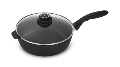 "Swiss Diamond XD Non Stick 9.5"" Saute Pan With Lid - 3.2qt"
