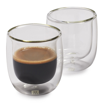 Zwilling Sorrento Double Wall Espresso Glass Set