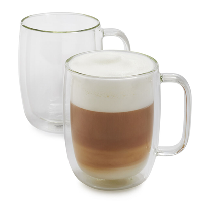 Zwilling Sorrento Double Wall 15oz Latte Glass Set
