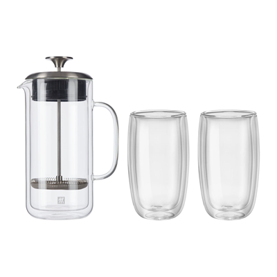 Zwilling Sorrento French Press & Glass Set