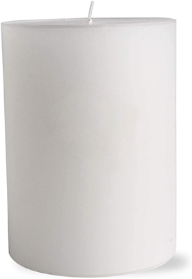 "TAG chapel White 4"" Pillar Candle"