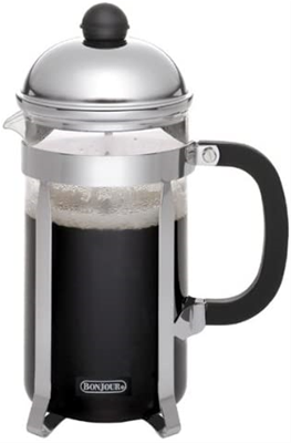 BonJour Monet 8 Cup French Press with Glass Carafe