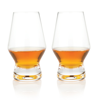 Raye Crystal Scotch Glasses (Set of 2)