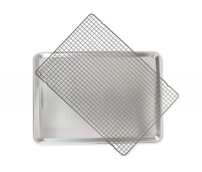 Nordic Ware Naturals Big Sheet Pan with Non-Stick Oven Safe Grid