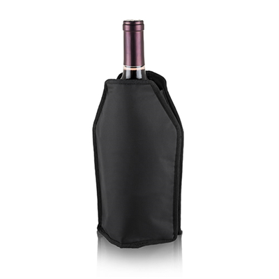 Shiver Wine Cooling Sleeve - Black