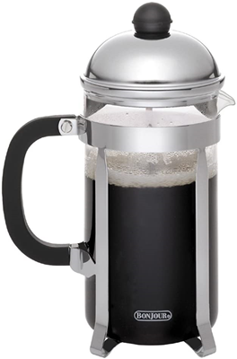 BonJour Monet 12 Cup French Press with Glass Carafe