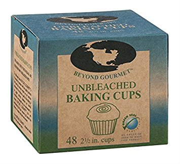 Beyond Gourmet Unbleached Large Baking Cup - Pack of 48