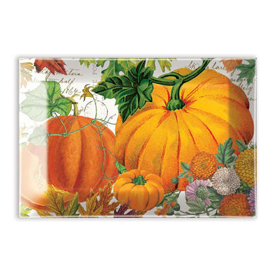 Michel Design Works Pumpkin Melody Rectangular Glass Soap Dish