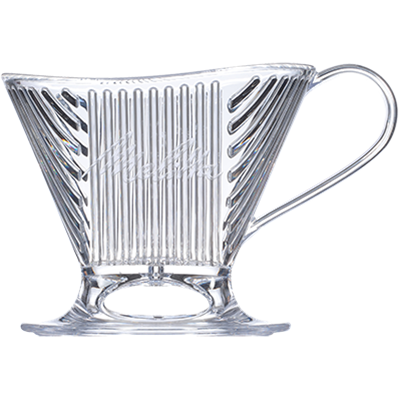 Melitta Signature Series Pour-Over 1 Cup Coffeemaker - Clear