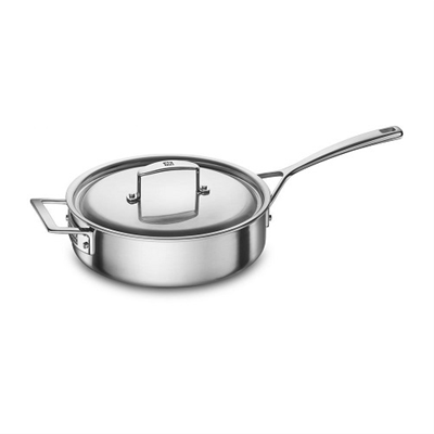 ZWILLING Aurora 5-Ply Stainless Steel 3-Qt. Saute Pan