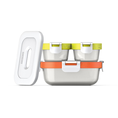 ZOKU 7-pc Neat Stack Storage Container Set ( Food to Go Collection)