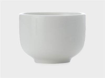 White Basics Sake Cup 2in