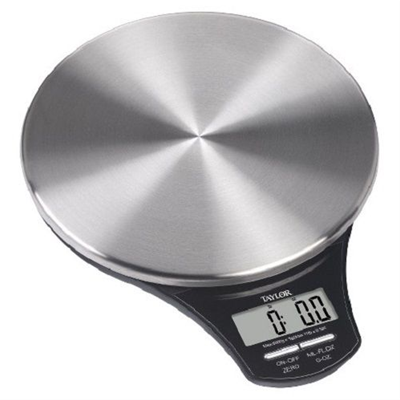 Taylor Slim Stainless Digital Kitchen Scale