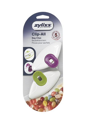 ZYLISS Clip-All Bag Clips, Large