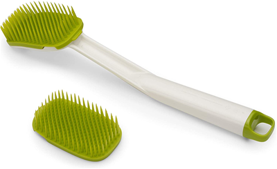 Joseph Joseph CleanTech Dish Brush with Replacement Head - Green