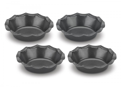 Cuisinart 4-pc Mini Fluted Tartlet Pan Set