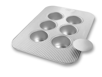 USA Pan Mini Cheesecake Pan 6 Wells