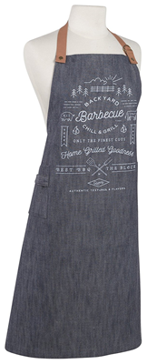 Now Designs Renew Denim Backyard BBQ Apron