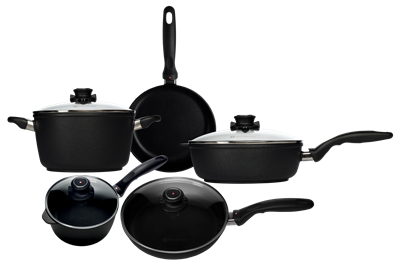 Swiss Diamond XD Non Stick 9 Piece Cookware Set