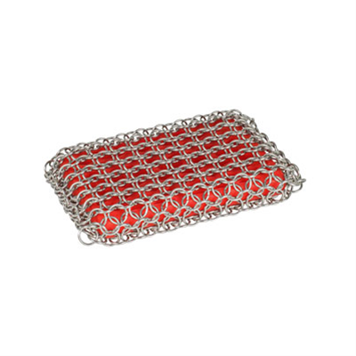 Lodge Chainmail Silicone Scrubbing Pad