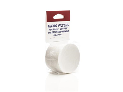 AeroPress Micro Filters for use with the AeroPress Coffee Maker - Pack of 350 Paper Filters.